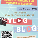 【Social Distancing Fun- Vlogger & Blogger】