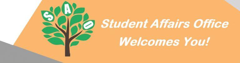 SAO Welcomes You!